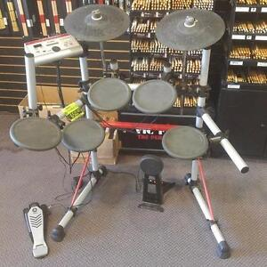 Yamaha DTXPRESS IV, batterie électronique usagée/electronic drum used