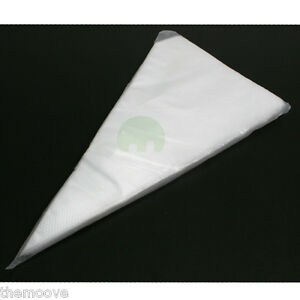 100 EXTRA STRONG SIZE M DISPOSABLE ICING PIPING CAKE BREAD SUGARCRAFT PASTRY BAG