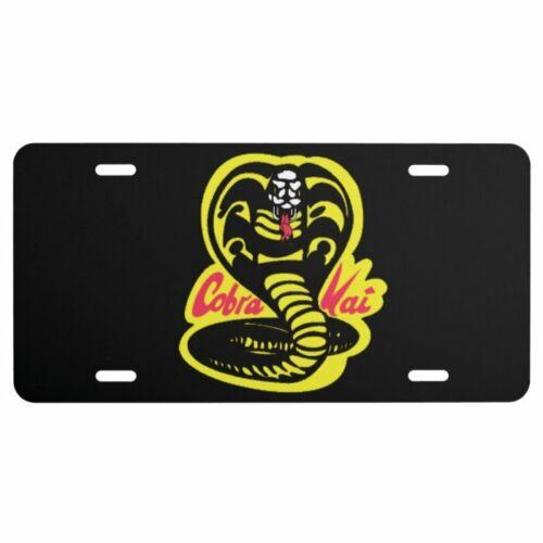 Cobra KAI Aluminum license plate