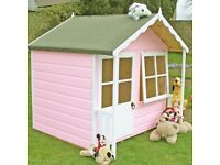 Brand new wooden playhouse