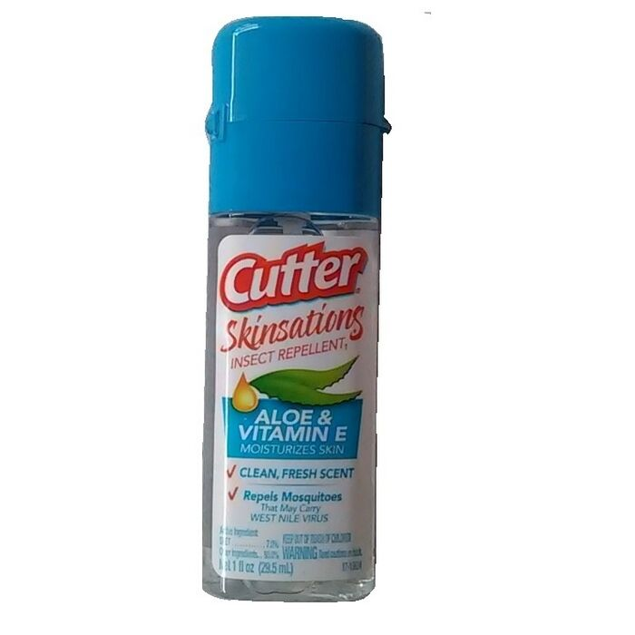 Cutter Skinsations Insect Repellent1