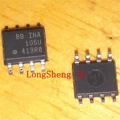1pcs Ina105u Precision Unity Gain Differential Amplifier Sop8 New