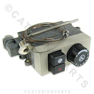 Hopkins Fish And Chip Range Gas Fryer Mini Sit 120-200 Degrees Thermostat Valve