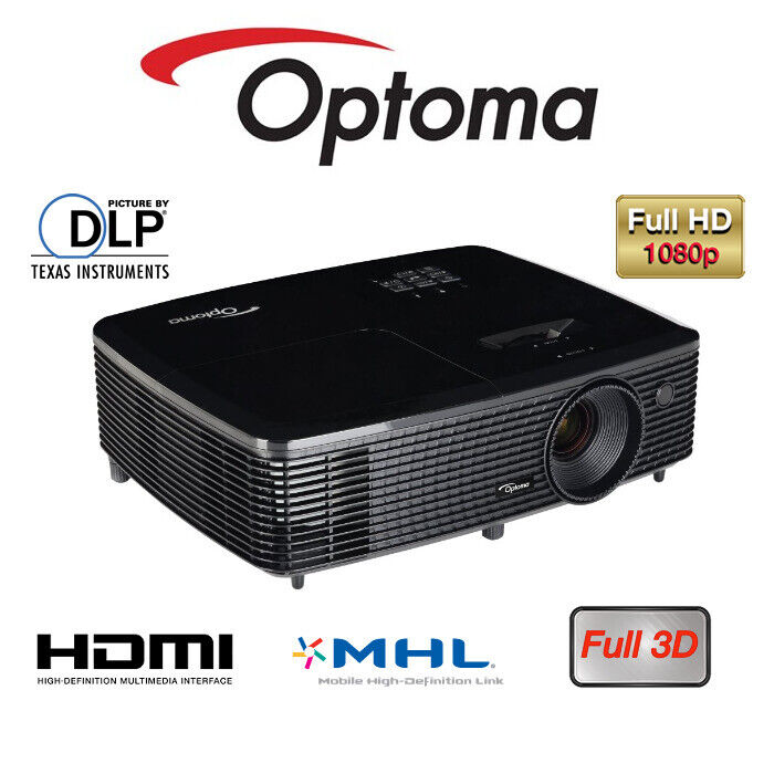 Optoma HD142X DLP 1080p 3D Full HD HDMI Projector | in Wath-upon-Dearne,  South Yorkshire | Gumtree