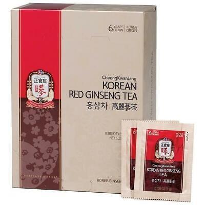 KGC Cheong Kwan Jang Korean Red Ginseng Tea From 6 Years Grown Root (50 Packets) ()