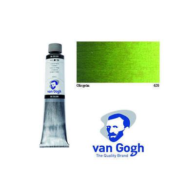 van gogh pintura de Aceite, 200ml, Verde Oliva