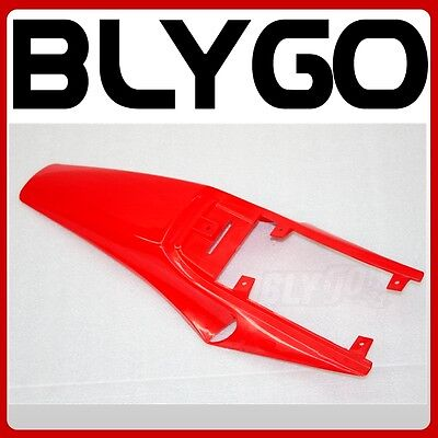 RED Plastic Rear Tail Mud Guard Fender APOLLO ORION Style 250CC PIT Dirt Bike