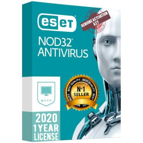 ESET NOD32 ANTIVIRUS 2020 🔥 1 YEAR 🔥 1 PC 🔥 GENUINE GLOBAL ACTIVATION KEY