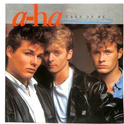 """a-ha - Take On Me (Extended Version) - 12"""" Vinyl Record Single"""