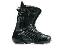 Burton Emerald and Salomon size 5uk womans snowboard boots mint cond