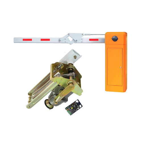 90 Degree Barrier Gate Automatic Boom barrier for parking lot and toll system