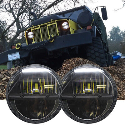 2X 7'' LED Headlight For Military Truck Hummer M998 M923 M35a2 Humvee Headlamp for sale  Walnut