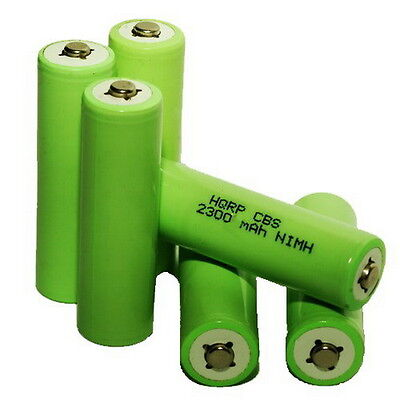 Six Rechargeable Ni-MH Battery for Tivoli Audio SongBook por