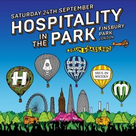 Hospitality In The Park Ticket
