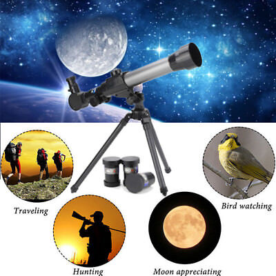 Astronomical Telescope Eyepieces Tripod Educational Tool For Kids Beginners Gift (Telescopes For Kids)