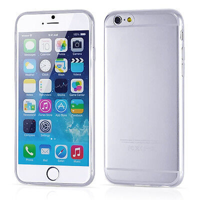 ULTRA THIN 0.3mm Clear Rubber Soft TPU Cover Case For iPhone 6 4.7inch