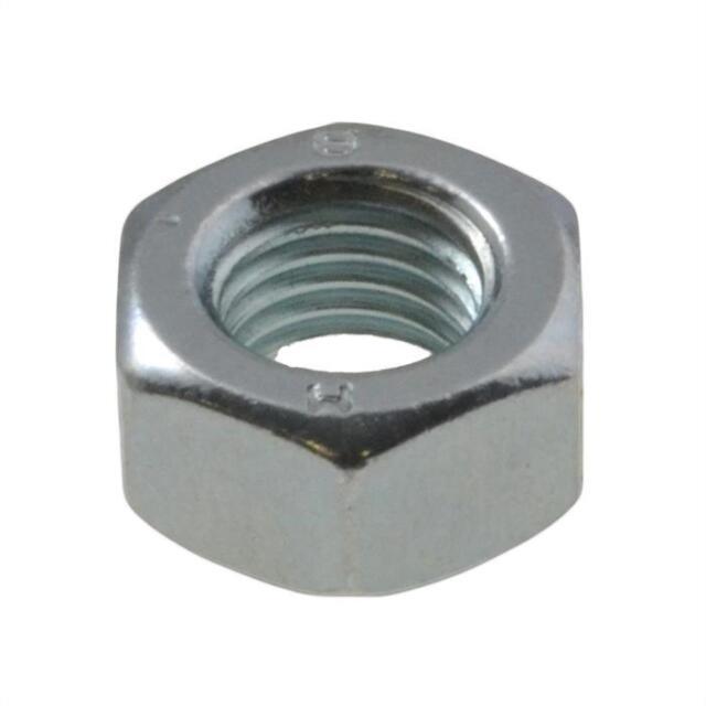 Qty 1 Metric Fine Hex Nut M10 (10mm) 1.25mm Pitch Zinc High Tensile Class 8 ZP