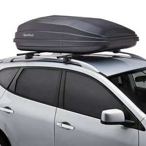 Thule-SportRack-Vista-XL-Rooftop-Cargo-Box-Carrier-SR7018-18-Cubic-Ft-Rear-Open