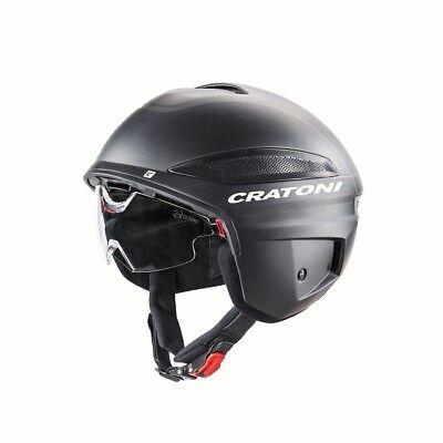 Cratoni - Vigor - Farbe: Black-Black Matt - Größe: XL (60 -...