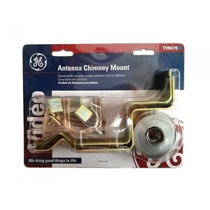 GE ANTENNA CHIMNEY MOUNT MODEL: TV94779 $21.99 • CONVENIENTLY