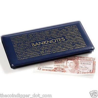Lighthouse Banknote Pocket Album Wallet Case Currency Holder Paper Money Book