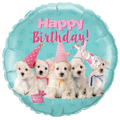 Cute Puppy Dogs Happy Birthday 18