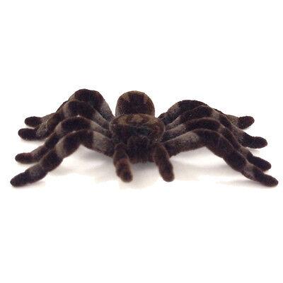 NEU Spinne braun , ca. 10 cm - Halloween - Dekoration -
