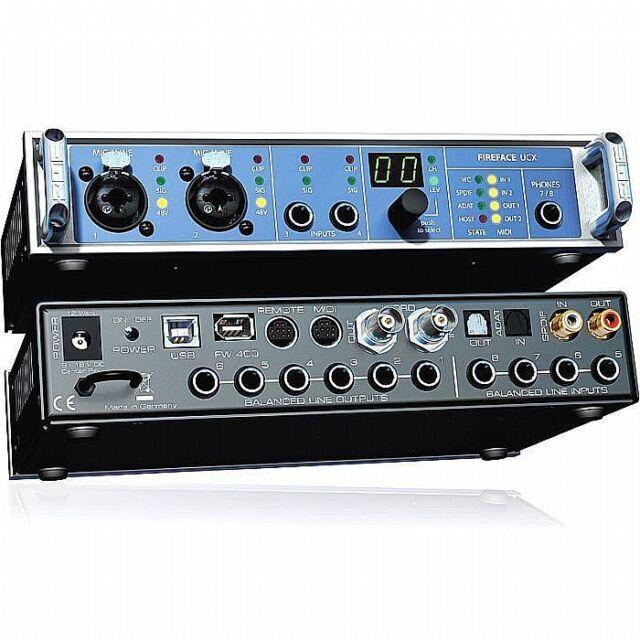 RME Fireface UCX Audio & MIDI Interface