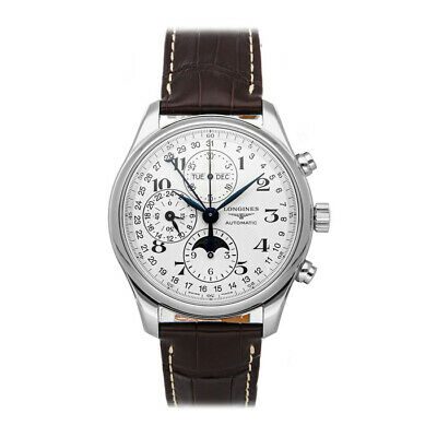 Longines Master Collection Complete Calendar Auto Steel Mens Watch L2.773.4.78.3