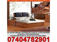BRAND NEW Single/Double/Kingsize Wooden Ottoman Storage Bed Frame