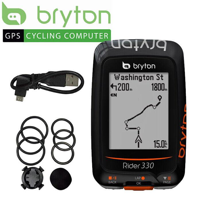 Bryton Rider 330E GPS Cycling Computer