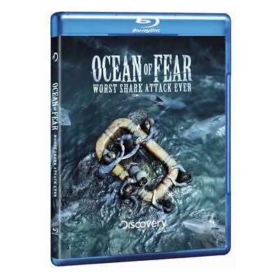 Discovery Channel   Ocean Of Fear   Worst Shark Attack Ever  Blu Ray  Brand New