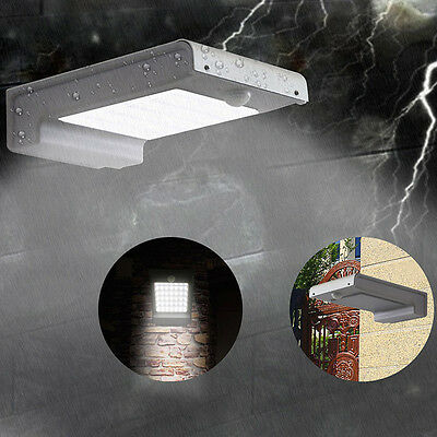 Waterproof 2835 49 LED Solar Power Sensor Light Outdoor Garden Lamp IP65