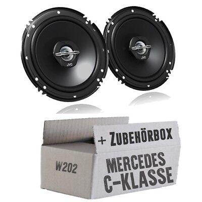 Mercedes-Benz C-Klasse W202- 16cm BOXEN 300WATT LAUTSPRECHER vorne Tür Einbauset