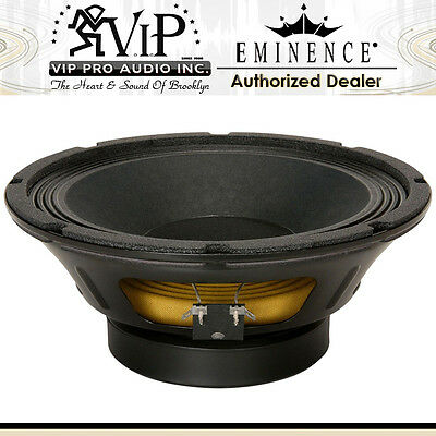 "Eminence BETA-10A 10"" Midrange Mid-Bass Woofer 8-Ohms 500W Replacement Speaker."