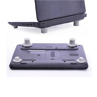 4pcs Notebook Accessory Laptop Heat Reduction Pad Cooling Feet Holder