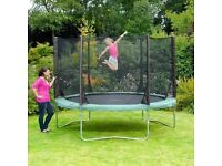 Free 10FT trampolines, Plums