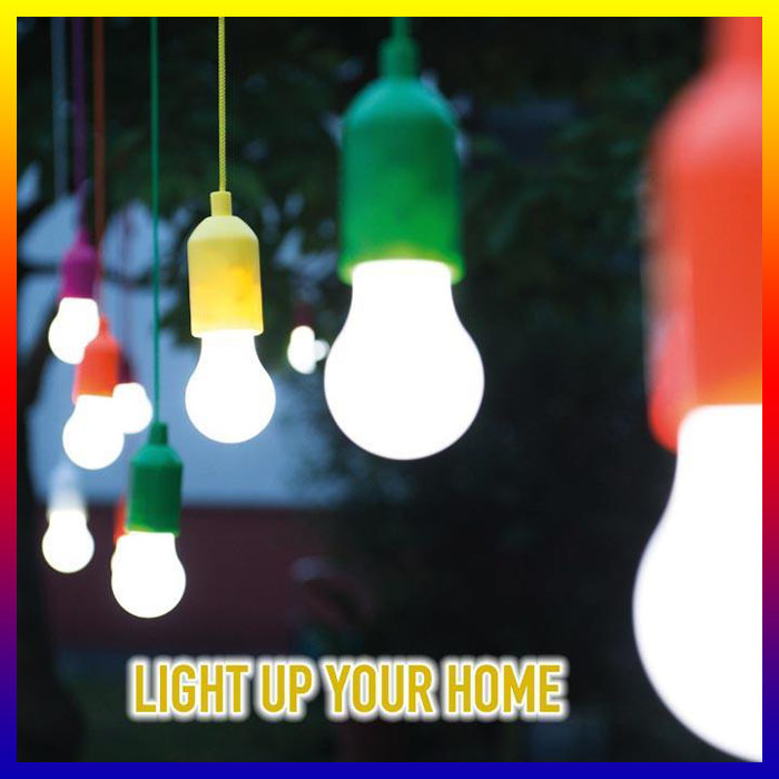 Wireless Light Bulb Stick Up Cordless Battery Operated Portable Night Handy Lamp