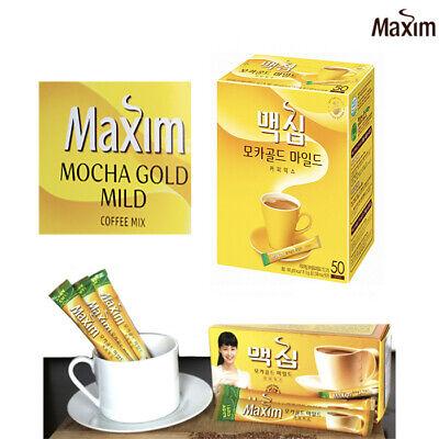 [Maxim] Mocha Gold Mild Coffee  Premium Coffee Powder (12G x 50 pks)