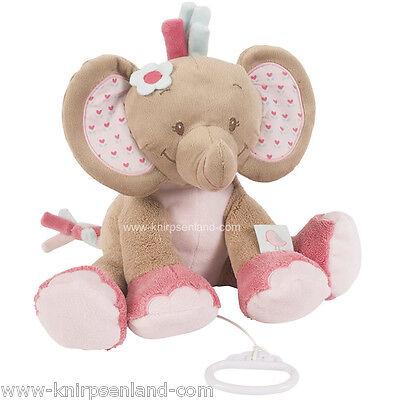Nattou Charlotte Rose Elefant Spieluhr Musikuhr Einschlafhilfe Baby Mobile