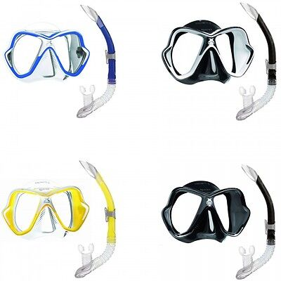 Mares X-Vision Liquid Skin Sailor Set Diving Mask with Snorkel Various Colours