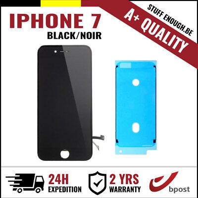 A+ LCD TOUCH SCREEN TACTILE DISPLAY SCHERM ÉCRAN BLACK NOIR FOR IPHONE 7+STICKER