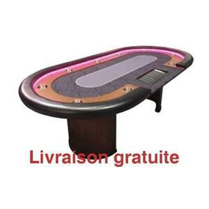 Table de Poker Dealer Del / Poker table Led Dealer