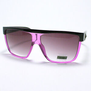 SQUARED OVERSIZED Sunglasses FLAT TOP STUD MOB Fashion For MEN And WOMEN