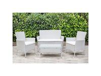 new dark grey slimline garden furniture suite. (same colour as the single single chair image)