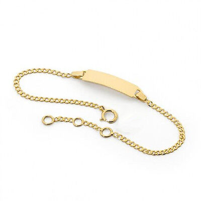 18K Gold Filled Baby ID Bracelet For Boy and Girl Newborn to 12 Years Old](Bracelets For Boys)