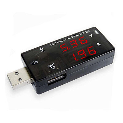 Digital USB Charger Speed Tester Checker house car mA Amp Volt Meter Smart Phone