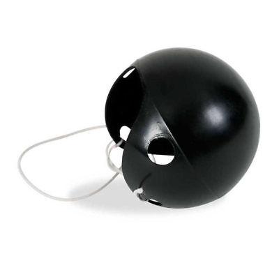 Mausnase schwarz mit Gummi, Pappnase Clownsnase Mauskostüm Zubehör - Maus Kostüm Nase