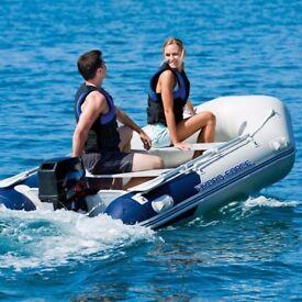 Inflatable Boat rib Dinghy yacht tender Hydro-Force 3.3 m aluminium deck v keel