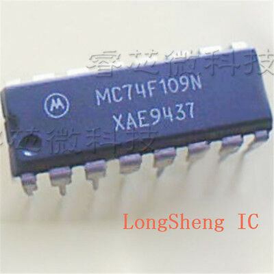 5 Pcs Mc74f109n Mot Flip Flop Jk -type Pos-edge 2-element 16-pin Pdip